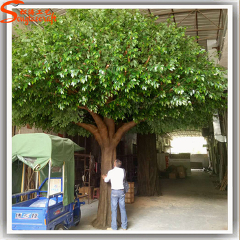 Large Artificial Tree Branches Indoor Decorative Artificial Oak ...