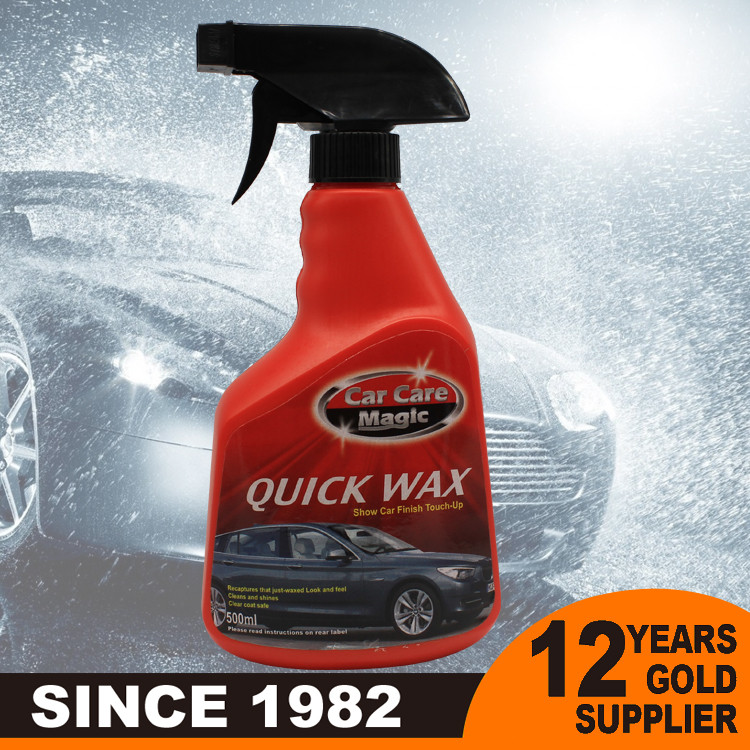 2016 water saving Polishing Car Wax Car Shine Spray Wax