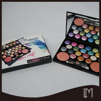 Waterproof cosmetic 22 color eyeshadow face powder blush makeup palette