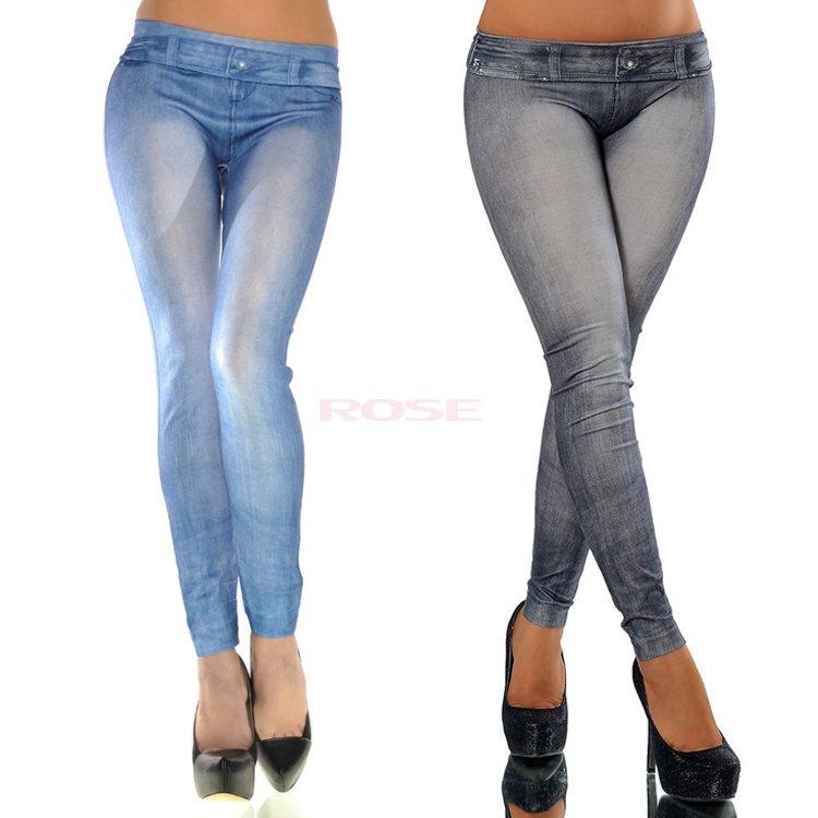 d7a278de698 Get Quotations · Hot Sale Women Leggings Jeans Leggins Jeggings Causal Plus  Size Jeggings Blue Black Women Pencil Pants