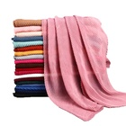 NEW Pleated Oversize Cotton Hijab Scarf Women Hijab Shawl Lady Scarf Wrinkle Cotton Blanklet Scarves Soft Muffler