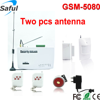 Smart Water Sensor Available Portable GSM Alarm Home Security Systems