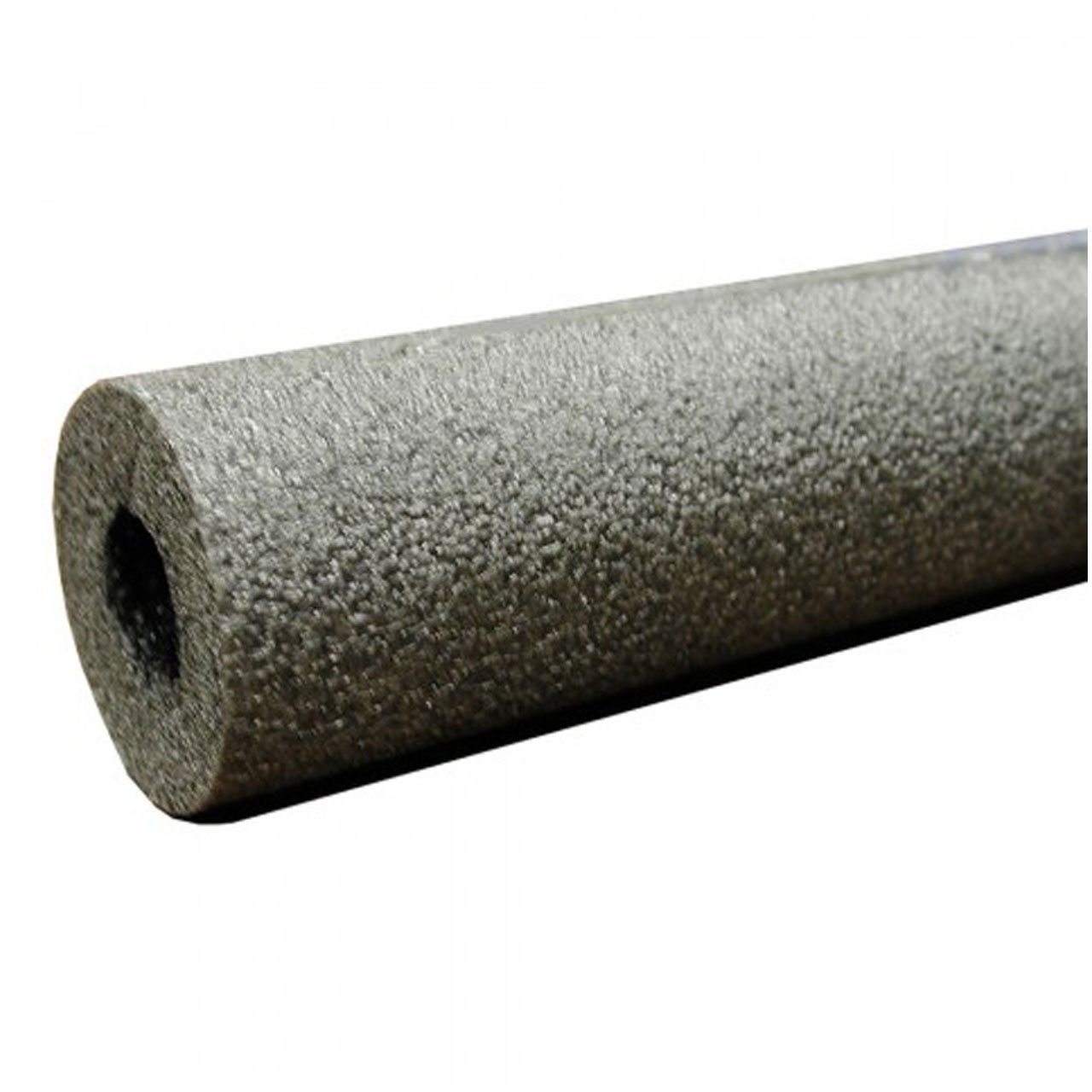 """Jones Stephens Corporation I53078 Self-Sealing Pipe Insulation 1/2"""" Wall Thickness, 7/8"""" (3/4"""" CTS 1/2"""" IPS) ID, Small, Black"""