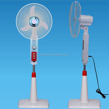 Nigeria And Egypt Market 12v Solar Rechargeable Fan Price ...