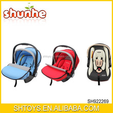 Hot Sale Europe Standard Baby Care Safety Cloth Baby Cardle Car Seat