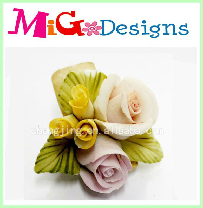 Ceramic Flower gifts ceramic flower decoration porcelain flower