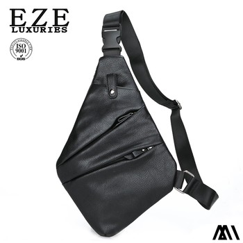 099f8688239b Anti-Theft Men's Messenger Bag Shoulder Bags Men Hidden Chest Pack Unisex  Retro Crossbody Bag Cool Motorcycle Sling Bag, View hiking sling bag, OEM  ...