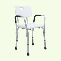 Rehabilitation Therapy Medical Hot sales Aluminum Handicap Bath Seat Shower Chair Factory Price