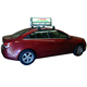 oscarled 3g taxi roof led display/led screen car advertising/taxi top sign