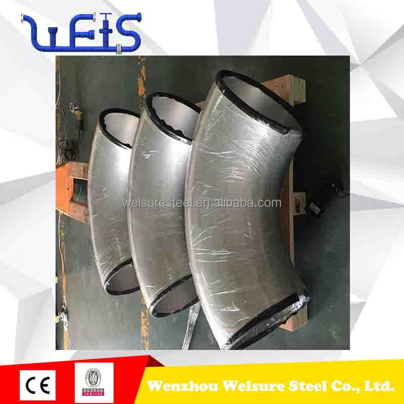 stainless steel pipeline elbow