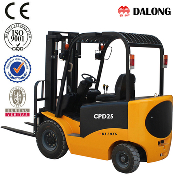 Four wheels 2500kg Electric Forklift CPD25