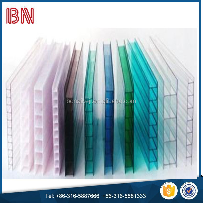polycarbonate hollow sheet pom sheet frp sun sheets from China Bonai