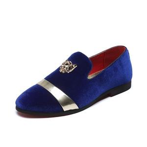 2655619928d Blue Velvet Shoes Sale
