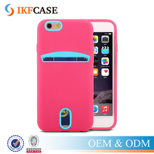 Popular Credit Card Slot Mobile Phone Accessories Case Factory In China for iPhone 7 I7 7 Plus