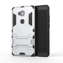 Armor Case For Huawei G7 Plus G8 GX8 Heavy Duty Hybrid Hard Soft Rugged Silicone Rubber Phone Cover Coque with Stand Function