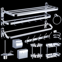 High Quality Stainless Steel 304 Wall-Mounted Bathroom Hardware Accessories Sets