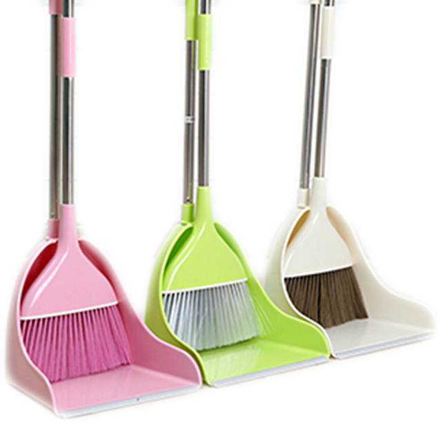 Modern Sleek Creative Broom And Dustpan With Stainless Steel Long Handle -  Buy Broom Dustpan,Broom And Dustpan,Dustpan Long Handle Product on  Alibaba.com