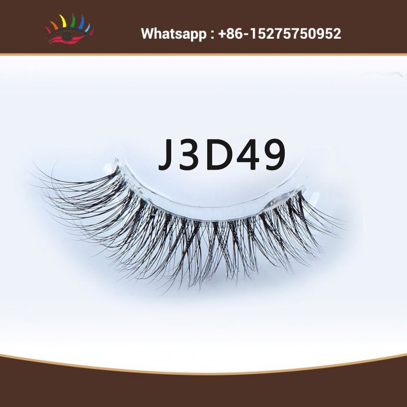 Indonesia Private Label 100% 3d Mink Lashes False Eyelashes