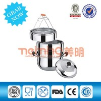 Three-layer stainless steel Pot/Steame