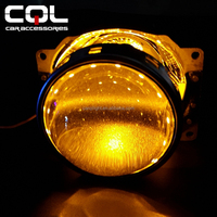 2.5inch 2.8inch 3inch HID projector lens light 360 degree angle Led Devil eyes for hid projector Led Demo eyes led angel eyes