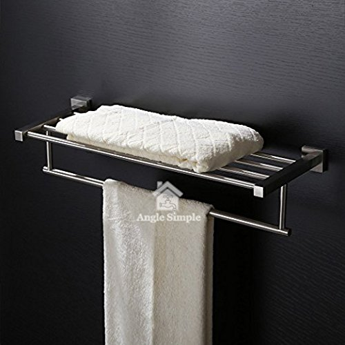 Buy Bath Towel Holder With Shelf 236 Angle Simple Sus304 Stainless