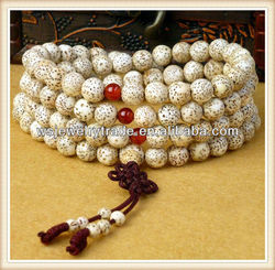 8mm Leaves The Bodhi Seed Mala Beads Wholesale