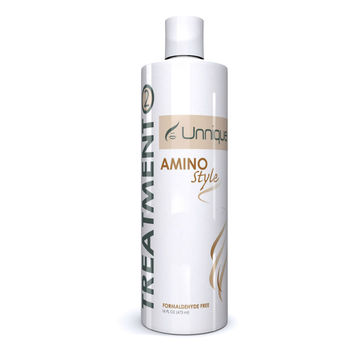 Unnique Amino Style Plus Keratin Treatment - Buy Keartin  Treatment,Formaldehyde Free Keartin Treatment,Brazilian Keratin Product on  Alibaba com