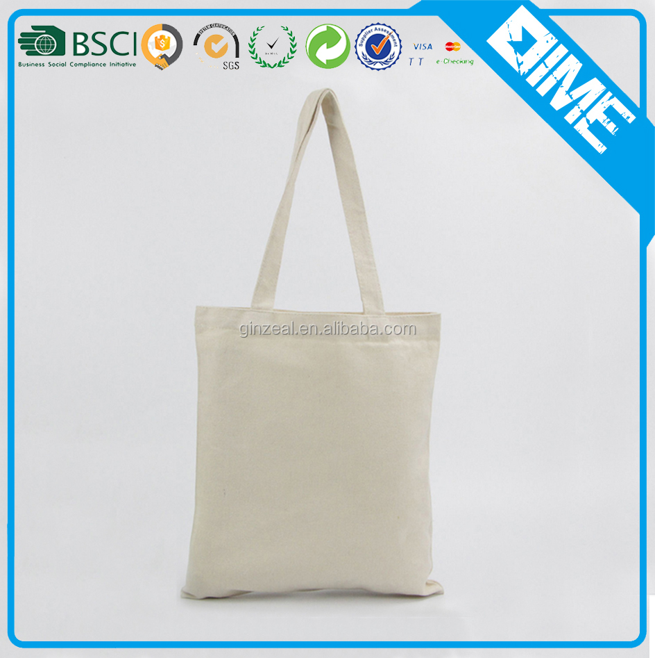 Popular Natural Shopping Cotton Handbag