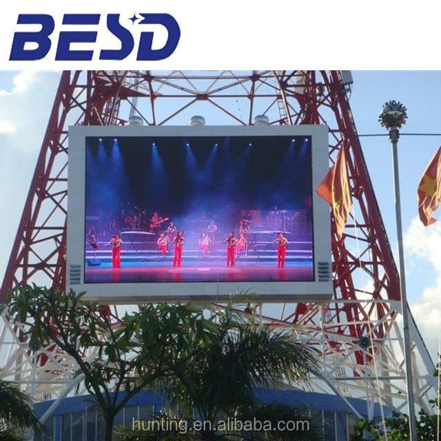 P8 good advertising led sign fixed installation manufacturer price