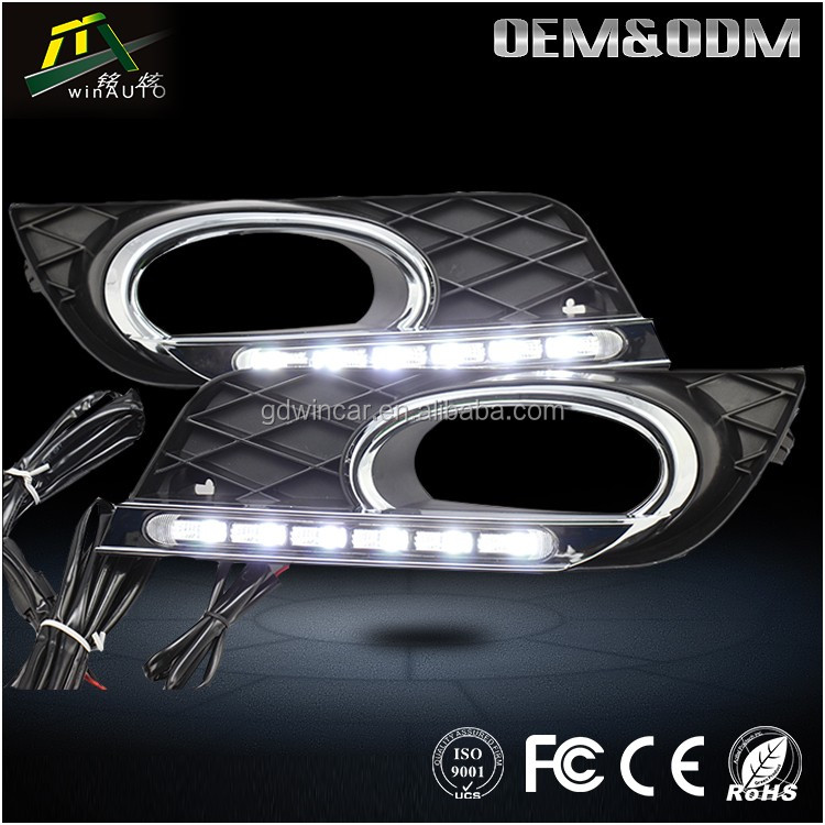Led DRL Fog Lights For Hyundai Accent 2017 To 2018