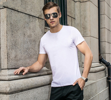 Men's casual summer wear wholesale price 60% cotton 40% polyester plain t-shirts custom