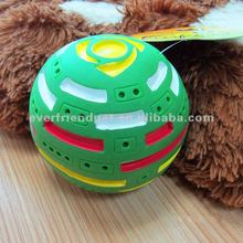 Green Squeak Christmas Rubber Ball Pet Supplies Dog