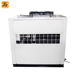 Industrial Cooling SHENGLIN industrial water to water cooling chiller for chemical reaction kettle cooling