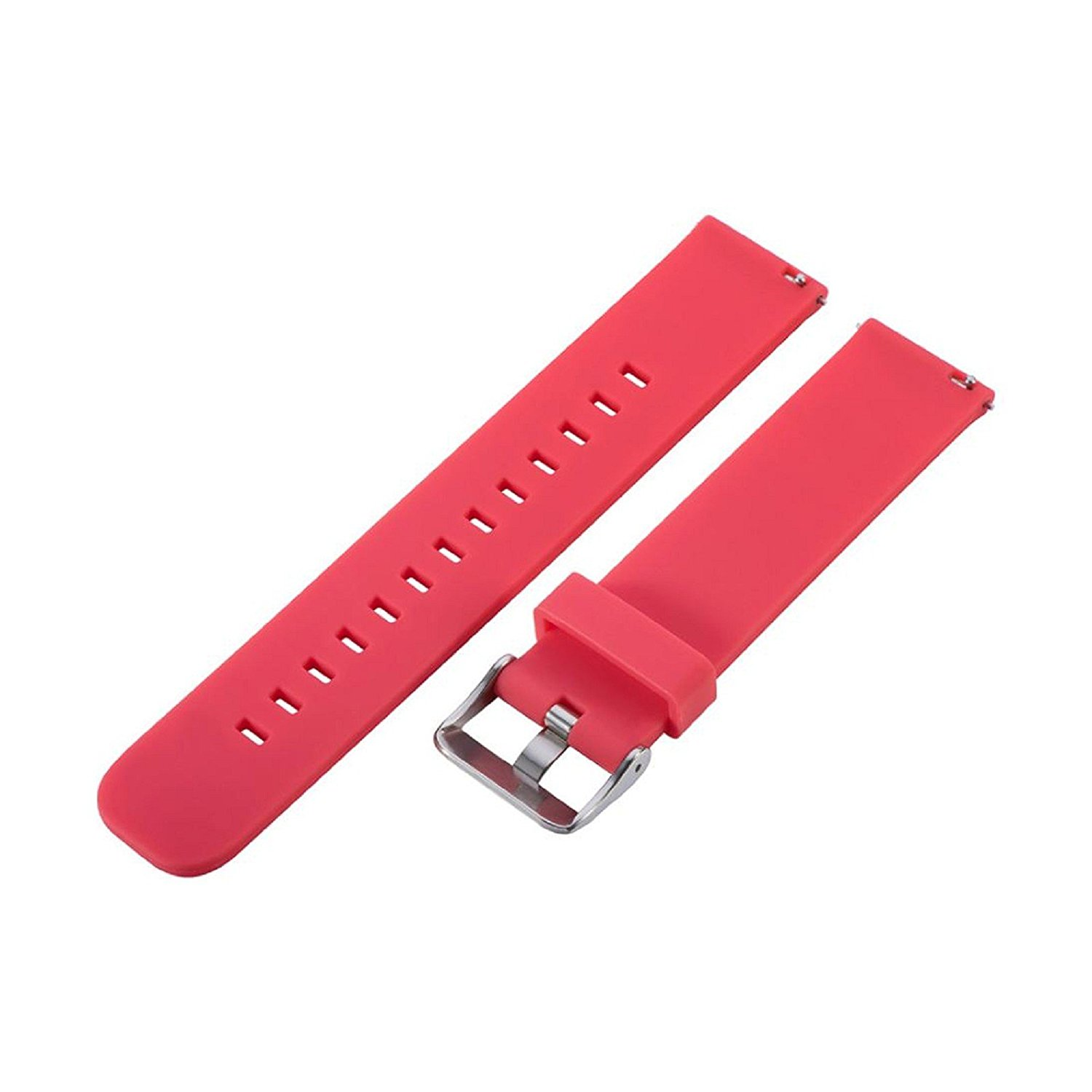 Owill Replacement Solid Colour Sports Silicone Soft Watch Band Strap For Samsung Gear Sport (Red)