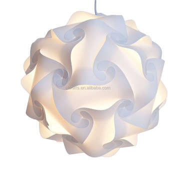 Diy modern ceiling pendant ball lamp shade lampshade puzzle diy modern ceiling pendant ball lamp shade lampshade puzzle pendants colorful pendant lights covers aloadofball Gallery