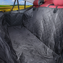 100% Waterproof 600d Pet 차 Seat Cover 해먹 <span class=keywords><strong>컨버터블</strong></span> 개 차 Seat Cover With 측 플랩