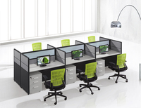 Aluminum modular removable glass material board types mdf fabric call center size demountable wood office partition