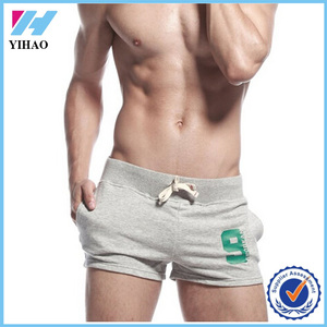Yihao new design custom men sport shorts dry fit sexy short pants for men wholesale