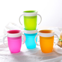 YDS High Quality Baby Drinking Cup Learning Cup Kid Silicone Baby Straw Cup