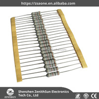 High Precision Metal Film Fixed Resistor 1/2W