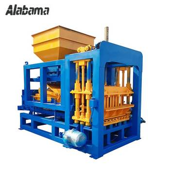 High Quality QT8-15 Hydraulic full-automatic concrete hollow block making machine