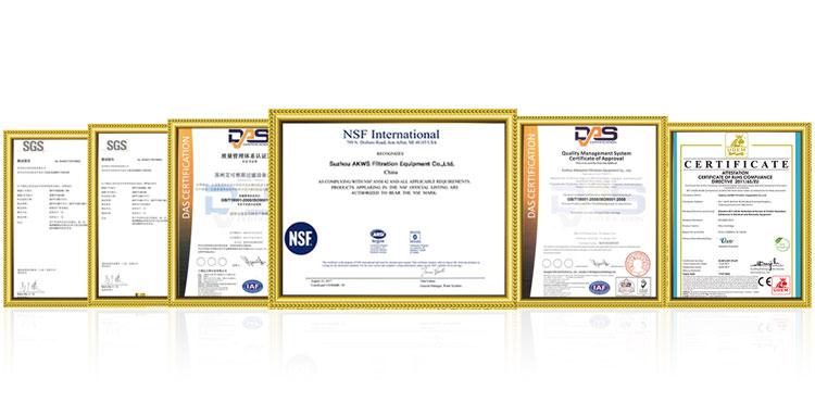 0.2 microns à 200 microns PP/PE/NL sac filtre industriel
