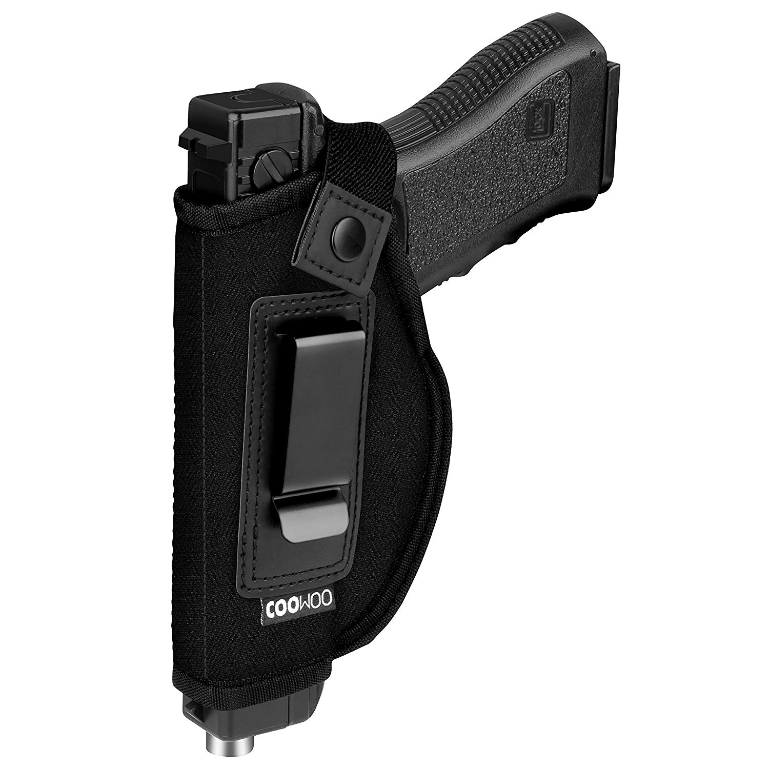 UP UPKJ IWB Gun Holster For Concealed Carry | Inside or Outside The Waistband Holster | Gun Concealed Carry IWB Holster | Fits S&W M&P Shield/GLOCK 26 27 29 30 33 42 43/Springfield XD XDS/Ruger LC9