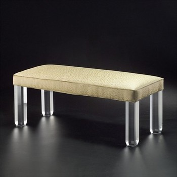 Custom Clear Acrylic Bench Legs Lucite Perspex Furniture