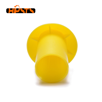 Customize brand pipe accessory safety rebar cap fits to threaded steel bar