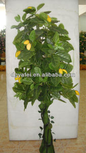 China indoor & outdoor artificial plants artificial green fruit trees on sale