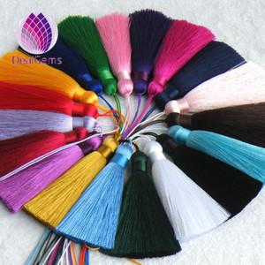 7cm handmade silk tassels mini tassels small tassels