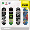 2014 new design custom 7 ply Canadia Maple Skateboard Complete professional leading manufacturer