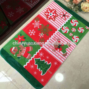 holiday welcome large christmas rugs - Christmas Rugs Large