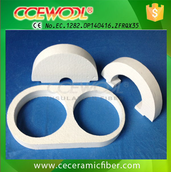 Low Thermal Conductivity Ceramic Fiber Special Shapes